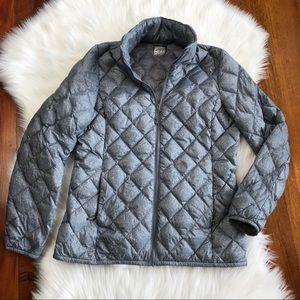 32 degrees heat grey puffer jacket